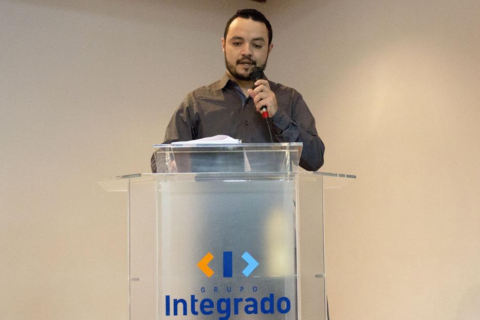 Adriano da Silva faz a apresentação da empresa e lançamento do produto
