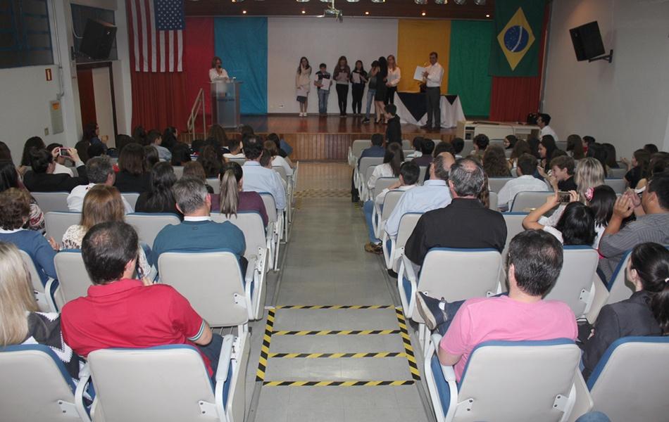 Cerimônia de certificação contou com a presença de toda a família