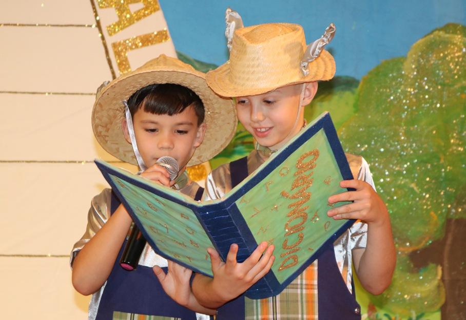 Os alunos do 2º ano apresentaram uma adaptação do musical ?Os Saltimbancos?