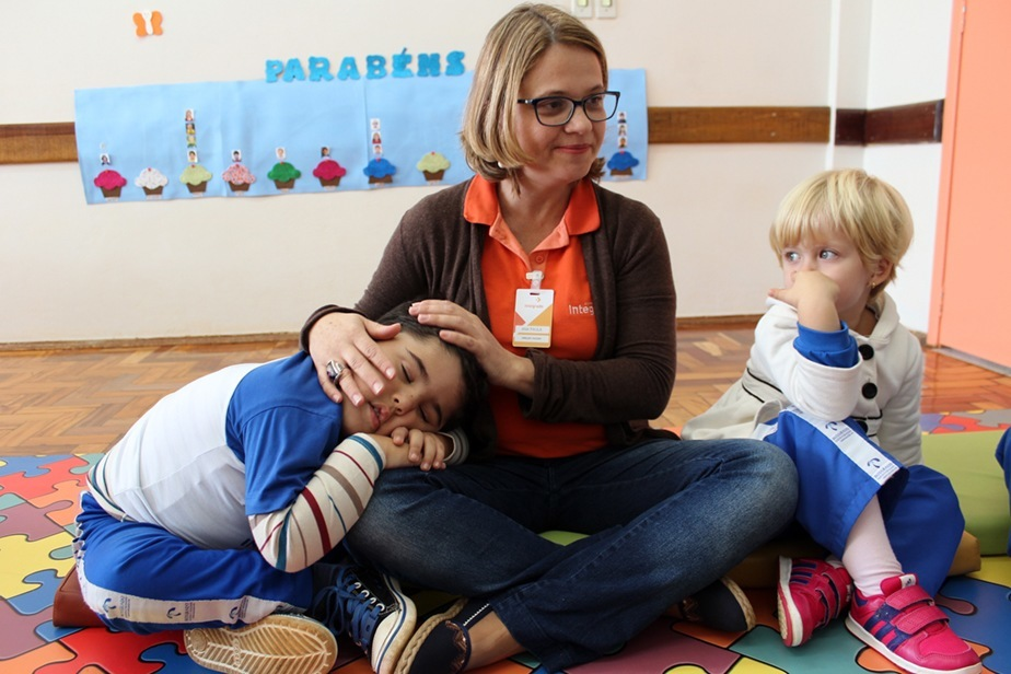 Ana Paula, diretora do Colégio, falou sobre como é o seu trabalho