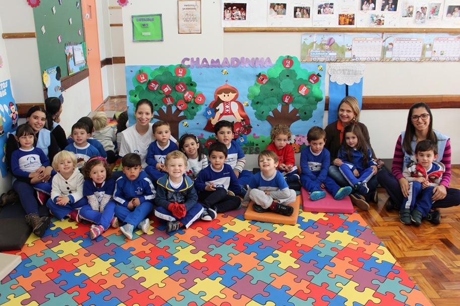 Ana Paula, diretora pedagógica do Colégio, falou sobre o seu trabalho
