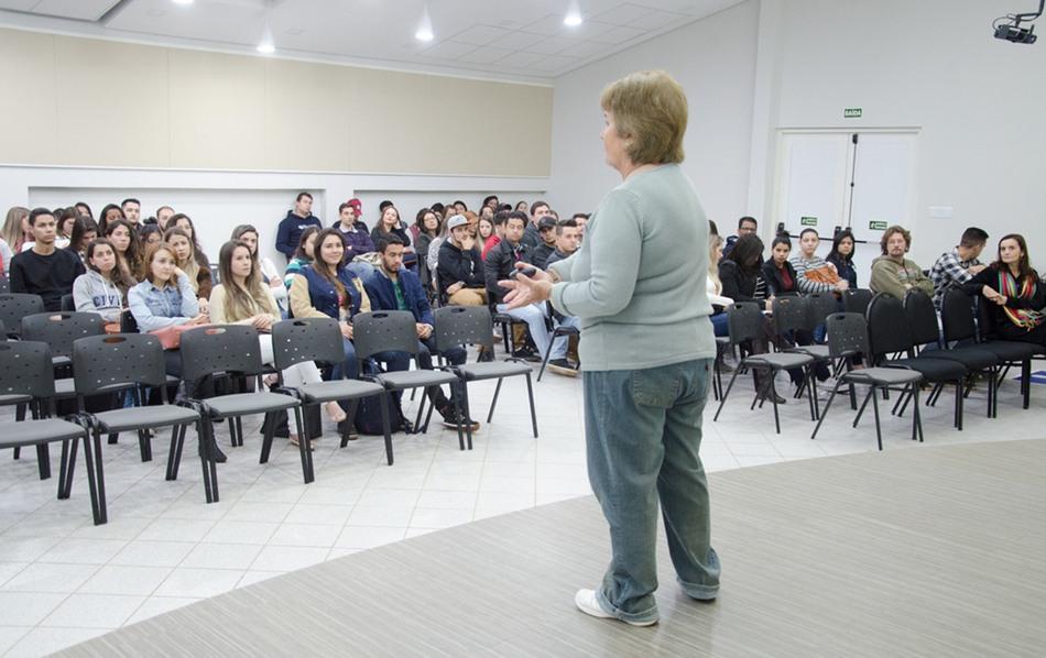 Evento reuniu acadêmicos dos cursos de Arquitetura e Urbanismo, Engenharia Civil e Engenharia de Produção da Instituição
