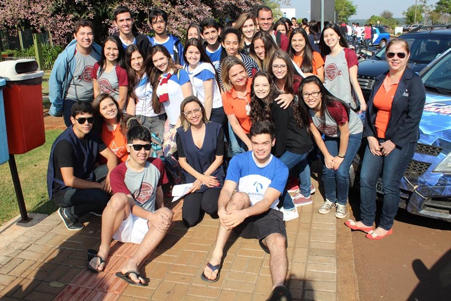 Colégio Integrado esteve presente no evento