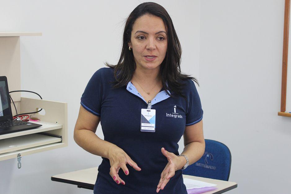 Francielle Baptista, supervisora de pesquisa