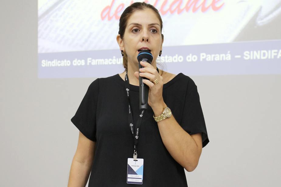 Ana Carla, coordenadora do curso