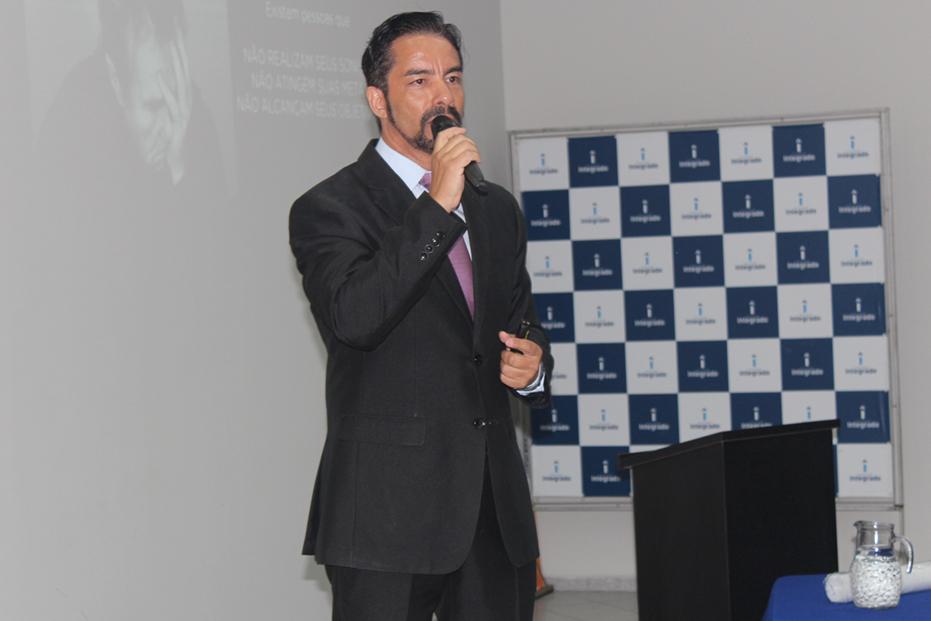 O palestrante Luís Gonzaga