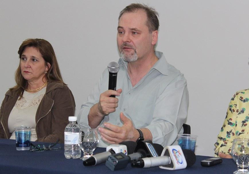 O coordenador do curso de Medicina, Edson Michalkiewicz