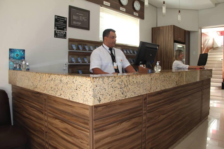 No hotel Santa Maria, 90% das reservas para este domingo são vestibulandos de medicina do Integrado (foto: Walter Pereira/Tribuna do Interior)