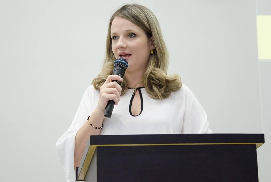 Rejane Ribas Silva, coordenadora do curso