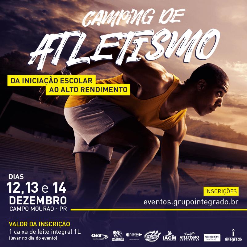 Evento ocorrerá nos dias 12, 13 e 14 de dezembro e receberá ex-atletas medalhistas olímpicos