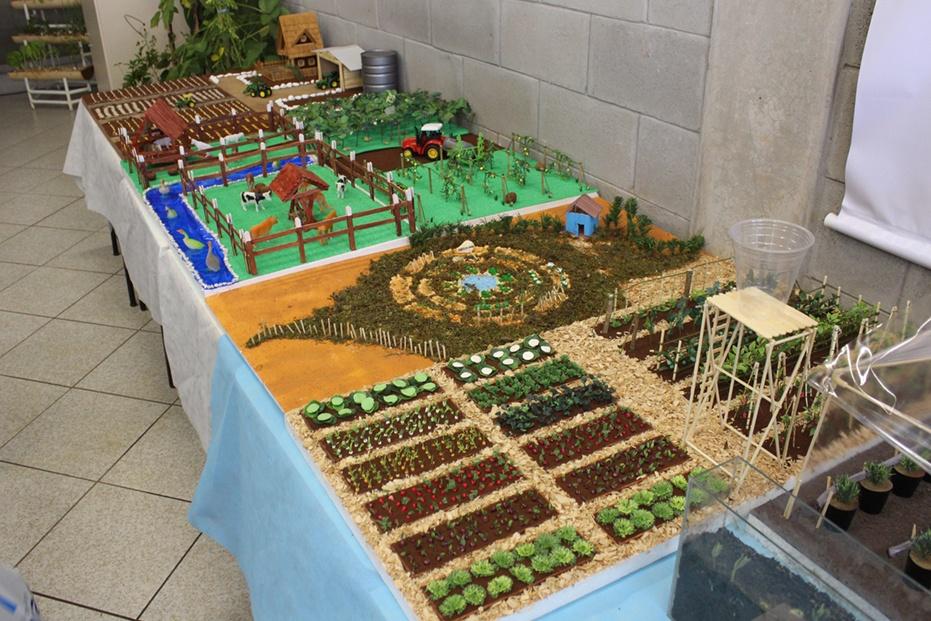 Maquetes do curso de Agronomia