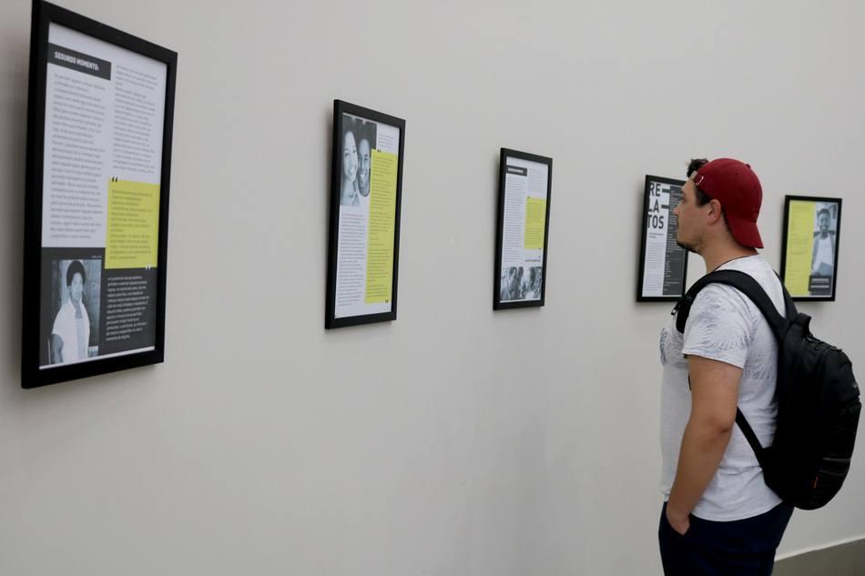 Comunidade pode visitar a exposição até dia 30, no câmpus do Integrado
