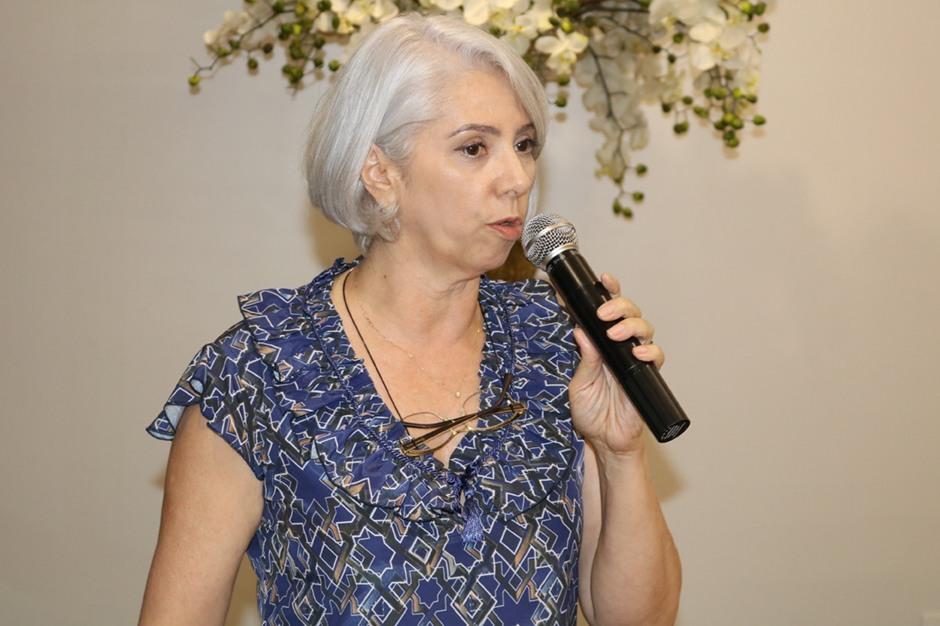 A doutora Alcileia Nunes Yamada