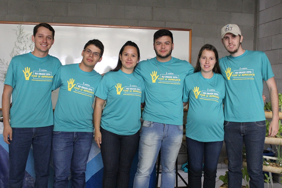 Acadêmicos de Agronomia que irão realizar o Enade (Exame Nacional de Desempenho de Estudantes)