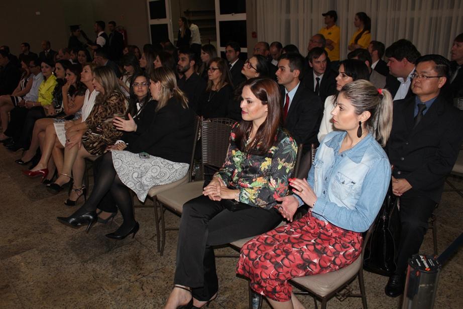 Cerimônia contou com a presença de familiares, amigos, professores e autoridades