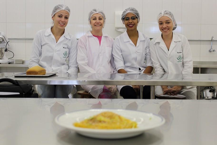 Minicurso aconteceu no Laboratório de Técnica Dietética e Gastronomia da Faculdade Integrado