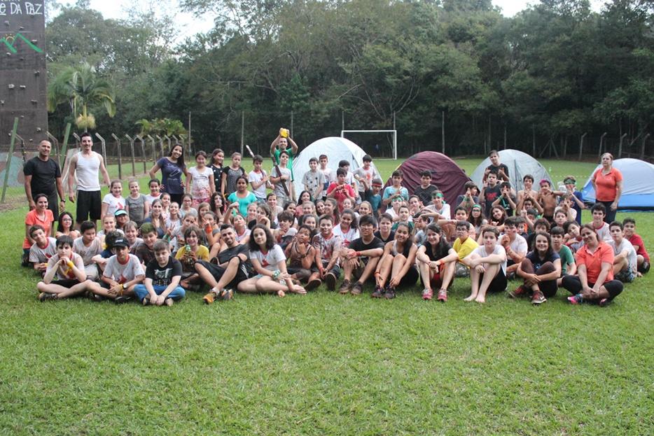 Acampamento reuniu mais de 100 pessoas