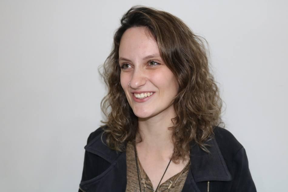 A acadêmica Natália Cândido sempre participa do Workpharma