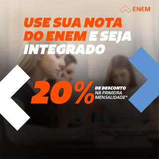 Use sua nota do ENEM