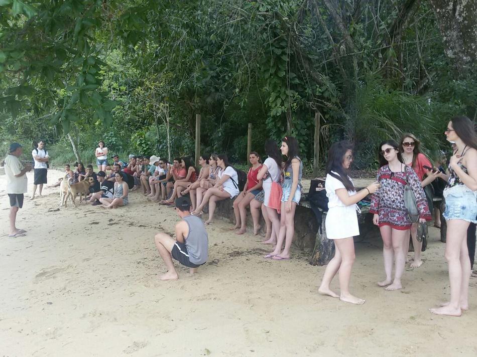 Aula de ecologia das praias arenosas