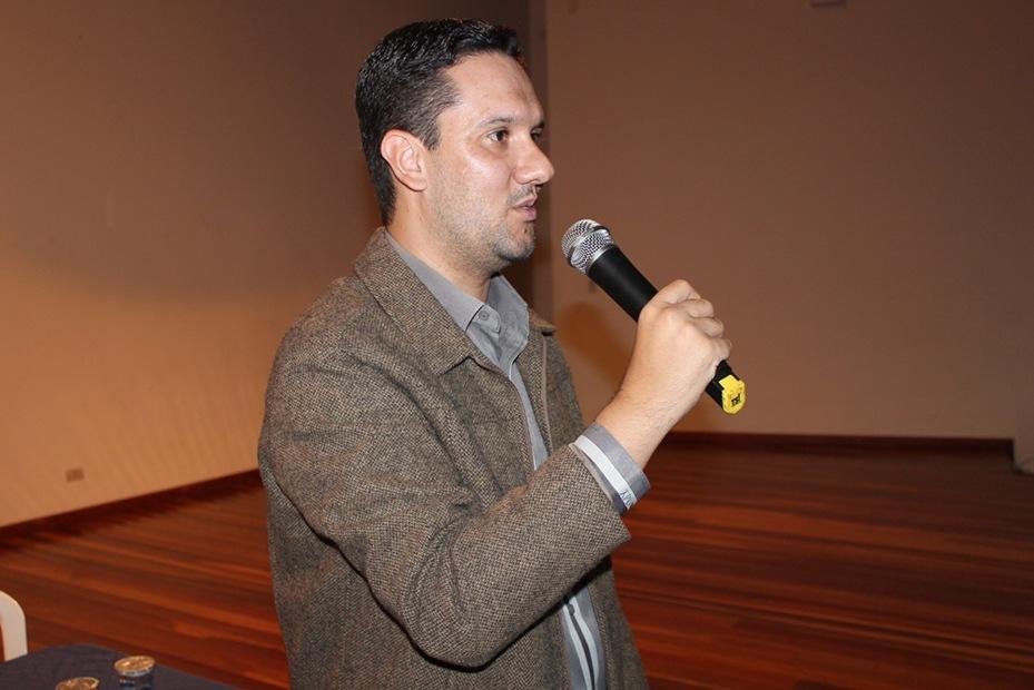 O palestrante Julio Cesar Campanha atua na área de saneamento