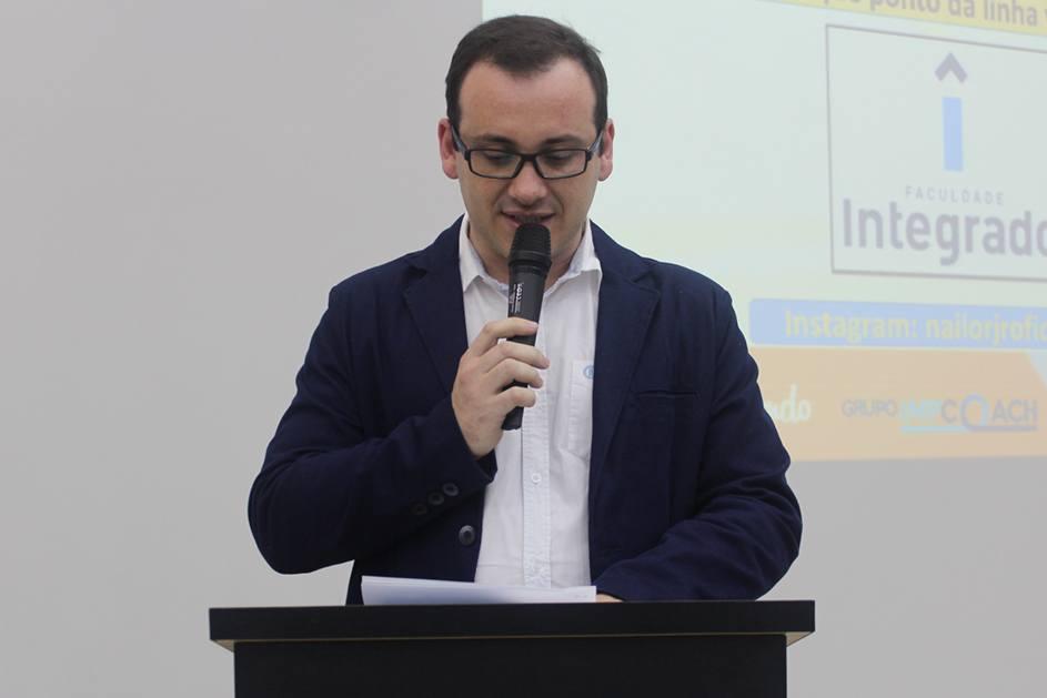 Rafael Zampar, supervisor de extensão