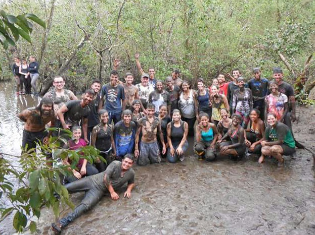 Grupo no manguezal