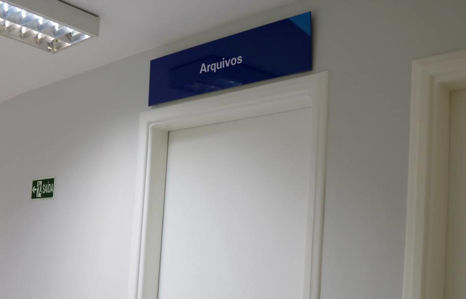 Sala de arquivos - Unidade de Psicologia Aplicada