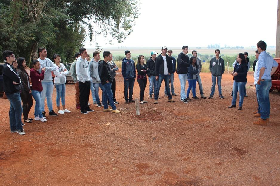 Eles também visitaram a infraestrutura do curso de Agronomia